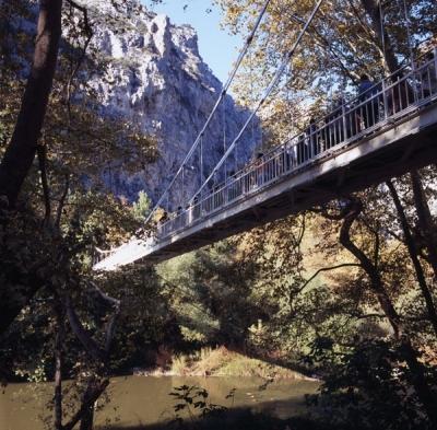 Κραμαστή γέφυρα στα Τέμπη