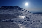 Τοπίο κορυφής Κισσάβου από πίσω πλευρά του Κισσάβου