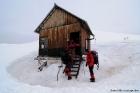 Καταφύγιο στο χιονοδρομικό κέντρο Ανατολικού Ολύμπου